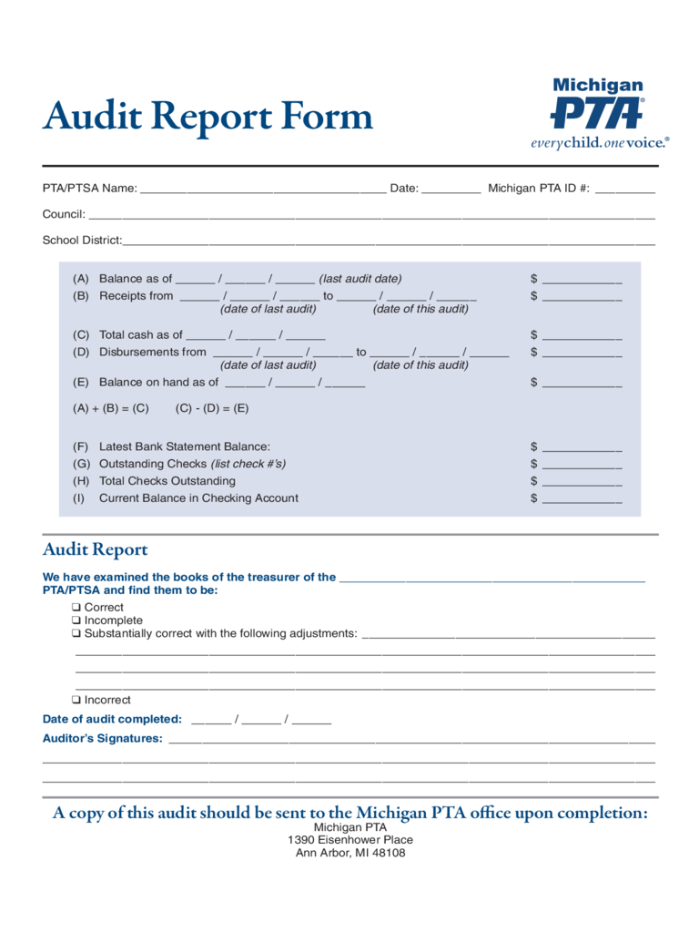 Fieldstation.co  Audit Report Formats