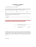 Vehicle Power of Attorney - Arkansas Free Download