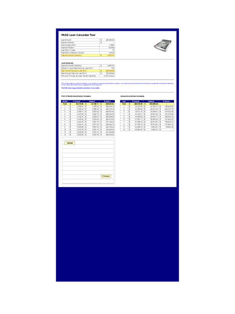 balloon loan calculator template 3 free templates in pdf word
