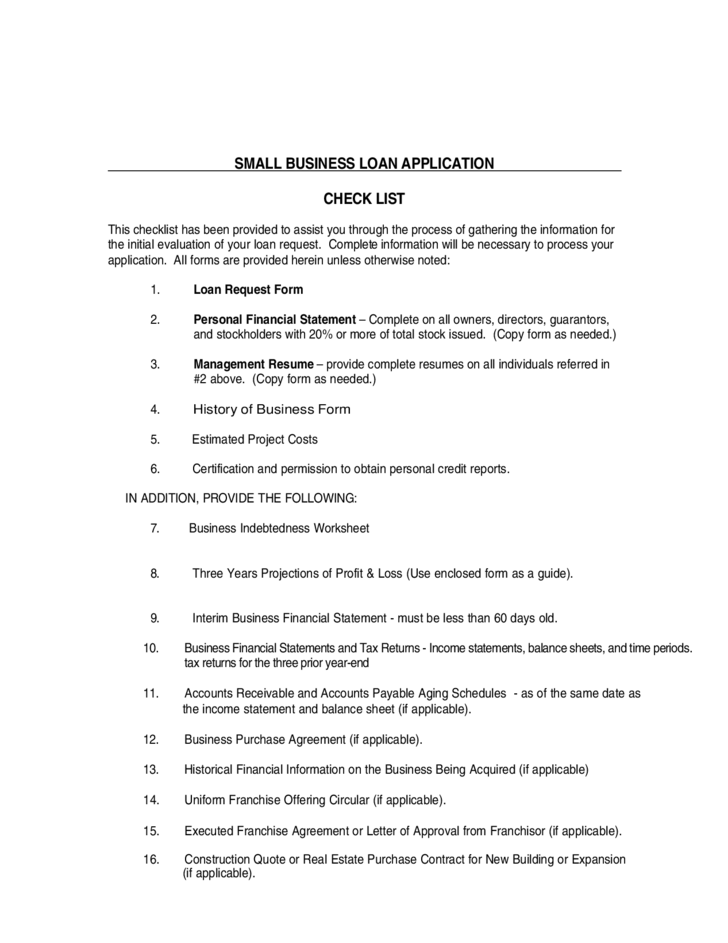 small business loan application letter Small business loan application business information loan information officer/employee _____ (initial) - all owners/guarantors must initial.