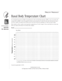 Basal Body Temperature Sample Chart Free Download