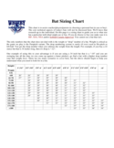 Bat Sizing Chart Free Download