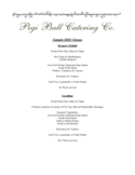 Sample Bbq Menus Free Download