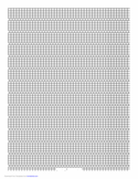 5-1 Cylinder Bead Square Pattern