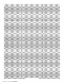 3-1 Cylinder Bead Square Pattern