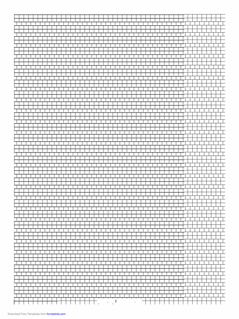2-1 Cylinder Bead Square Pattern