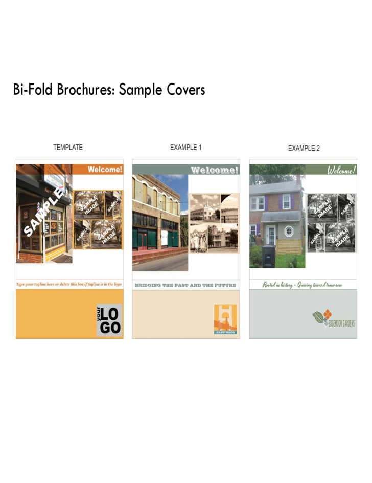 bi fold brochure template publisher - bi fold brochure front and back free download