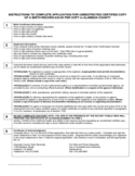 Birth Certificate Order Form - Alameda County