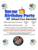 Birthday Party Poster Free Download