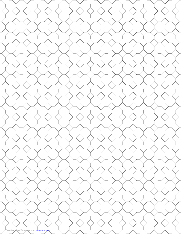 small tessellation graph paper  4 8 8  free download