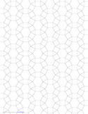 Small Tessellation Graph Paper (3.4.6.4)