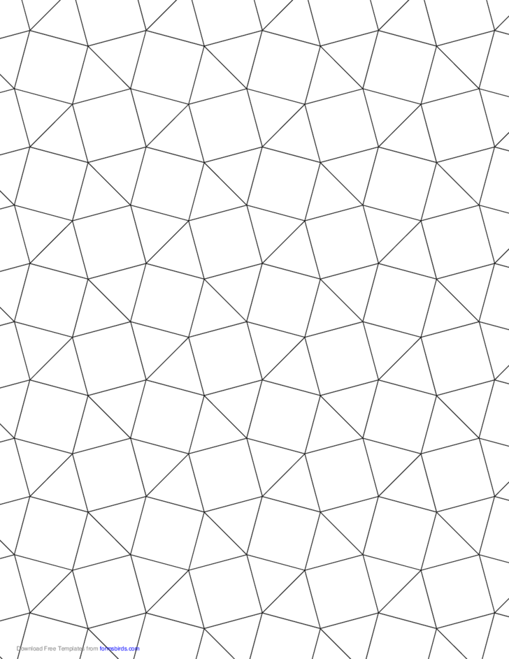 tessellation graph paper  3 3 4 3 4  free download