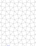 Tessellation Graph Paper (3.3.4.3.4)