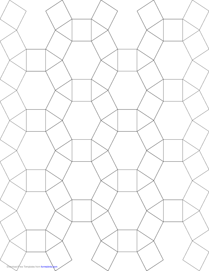 tessellation graph paper  3 4 6 4  free download