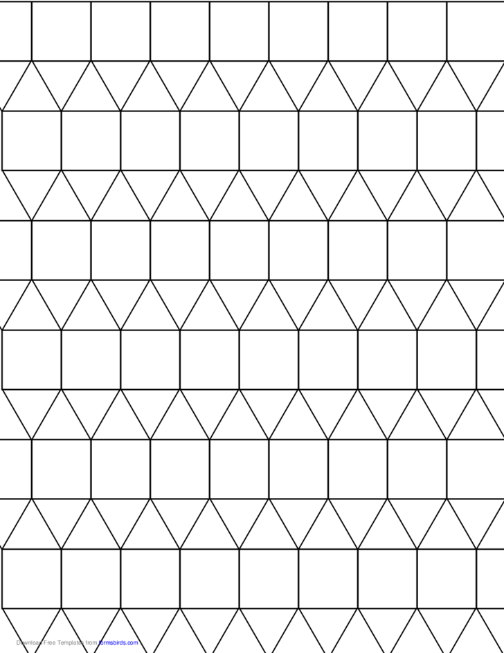 tessellation graph paper  3 3 3 4 4  free download