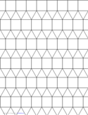 Tessellation Graph Paper (3.3.3.4.4)