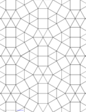 Tessellation Graph Paper (3.3.3.3.3.3,3.3.4.3.4)