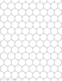 Tessellation Graph Paper (3.12.12)