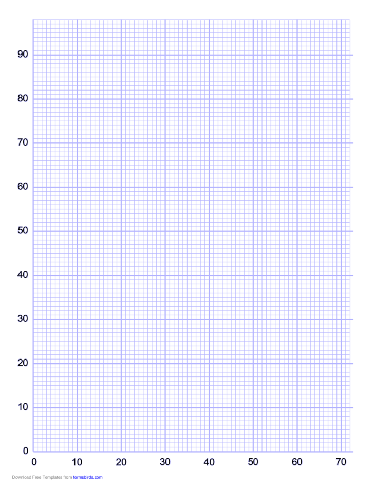 10 Lines per Inch Numbered Grid Paper