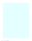 1 Line Every 5 mm Graph Paper on Letter-Sized Paper Free Download