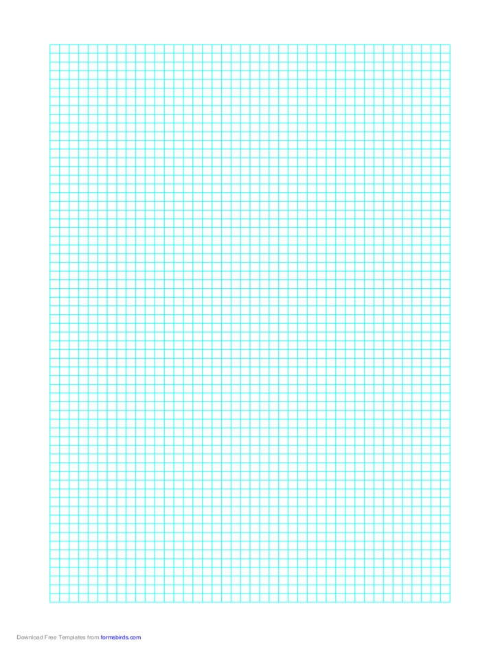 1 Line Every 4 mm Graph Paper on