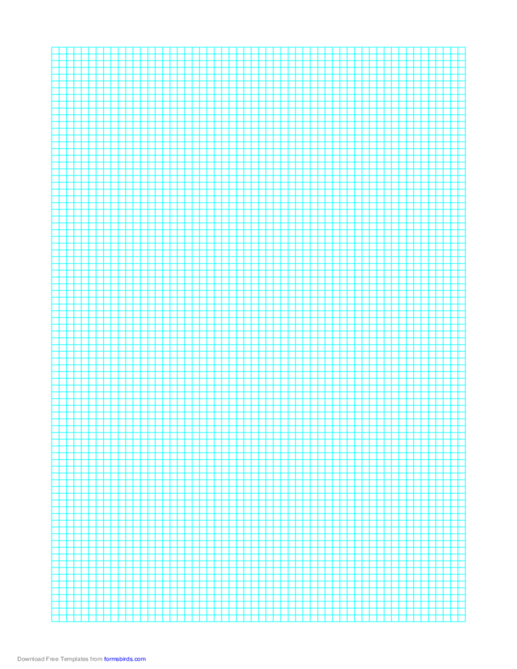 Graph Paper on Letter-Sized Paper