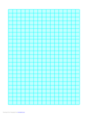 Graph Paper on Letter-Sized Paper (Heavy Every 5th Line)