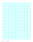 1 Line Every 5 mm Graph Paper on A4 Paper (Heavy Every Fourth Line) Free Download