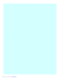 Graph Paper on A4 Paper (1 Line Every 3 mm)