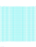 Probability Graph Paper by 100 Divisions (Long Axis)