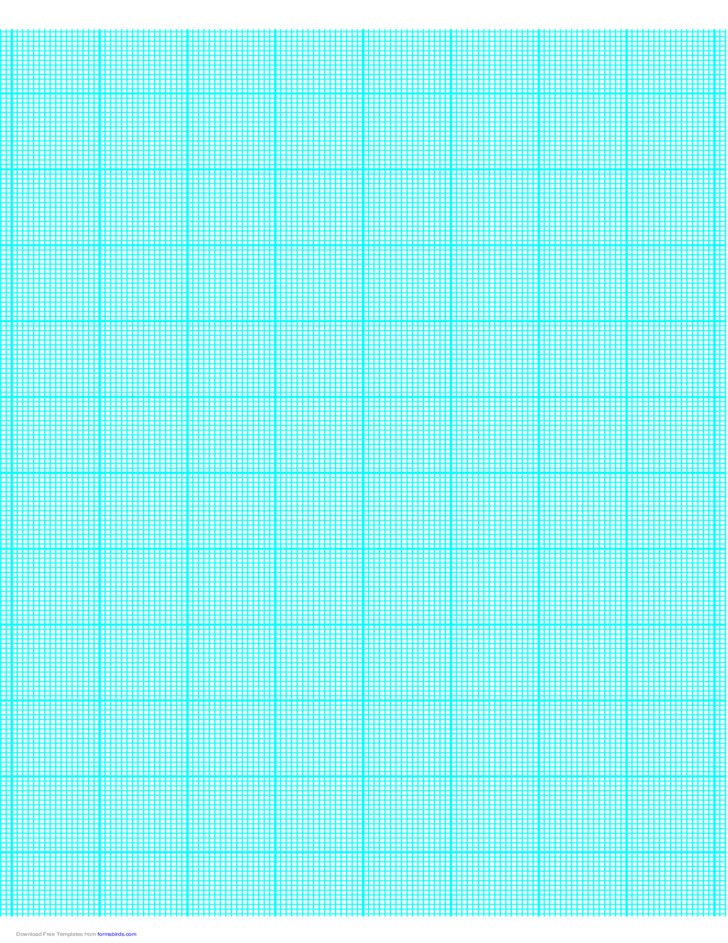 16 Lines per Inch Graph Paper on A4-Sized Paper (Heavy)