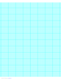 10 Lines per Inch Graph Paper on A4-Sized Paper (Heavy)