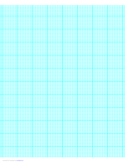 9 Lines per Inch Graph Paper on A4-Sized Paper (Heavy)