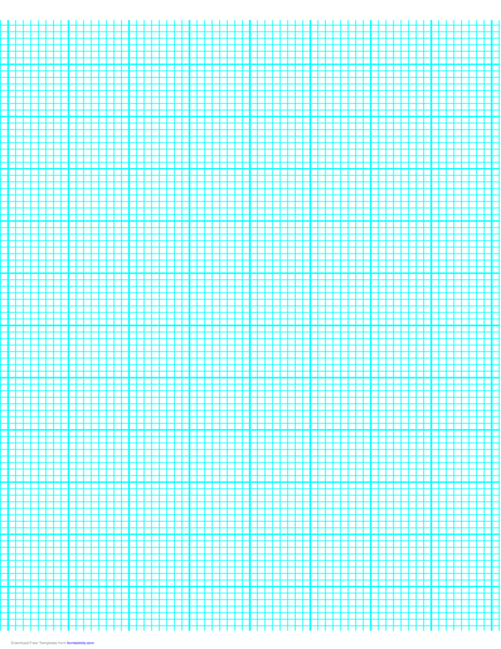 8 Lines per Inch Graph Paper on A4-Sized Paper (Heavy)