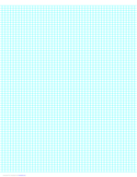 6 Lines per Inch Graph Paper on A4-Sized Paper