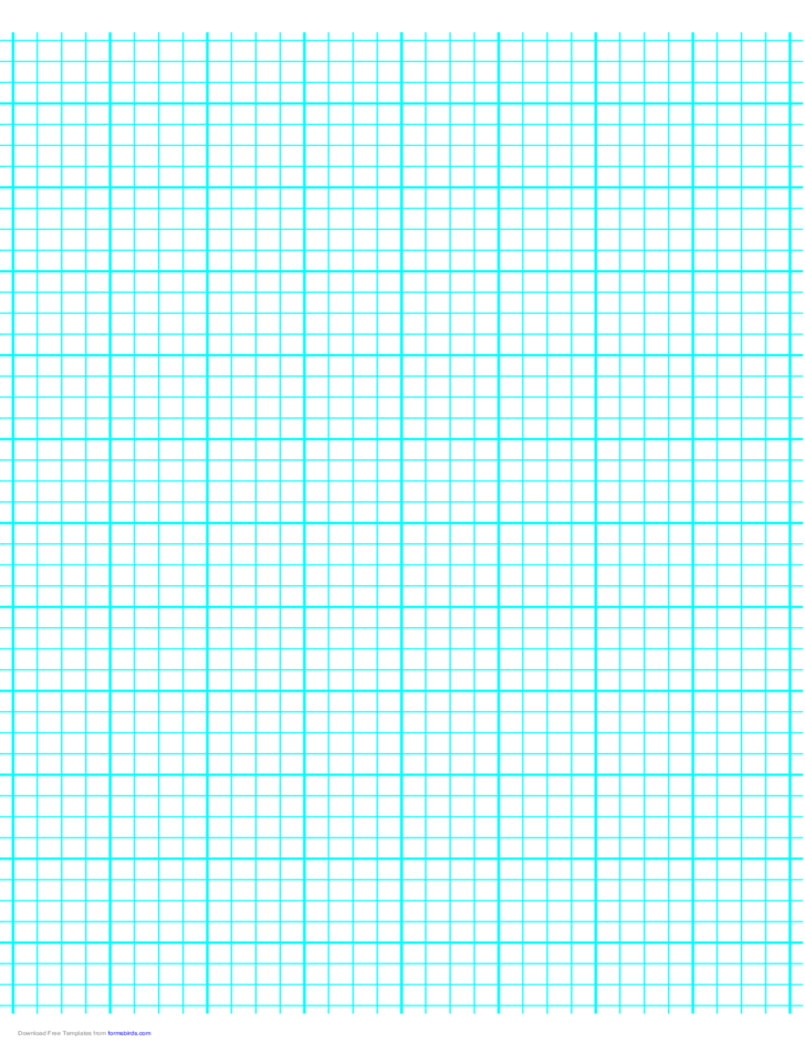 4 Lines per Inch Graph Paper on A4-Sized Paper (Heavy)