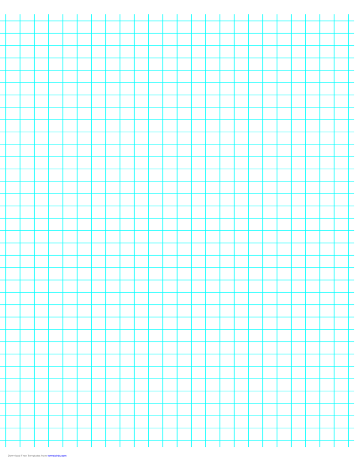 3 Lines per Inch Graph Paper on A4-Sized Paper