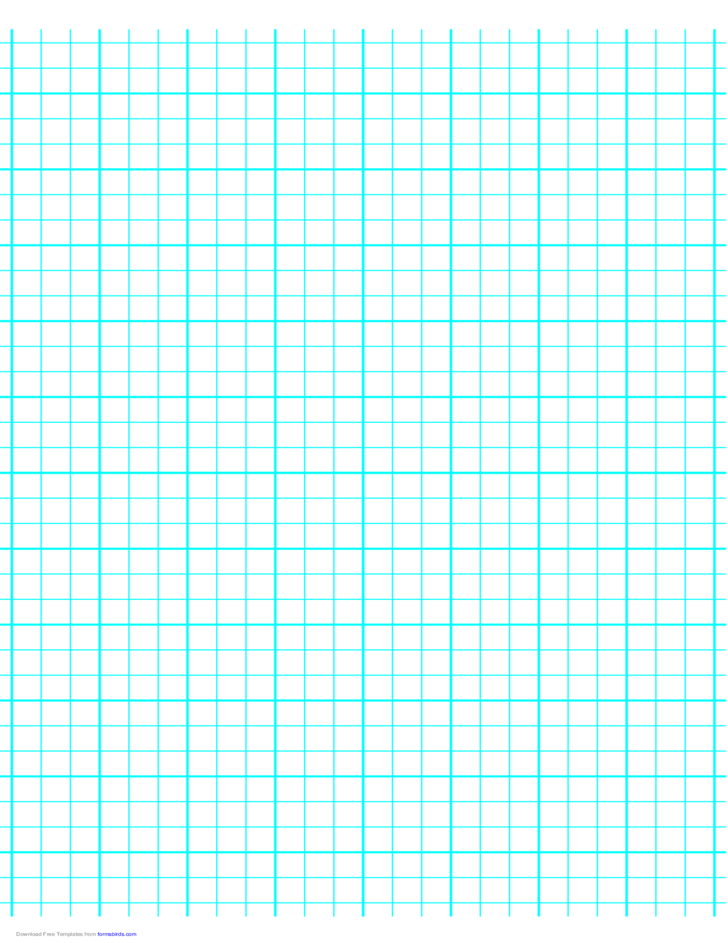 3 Lines per Inch Graph Paper on A4-Sized Paper (Heavy)
