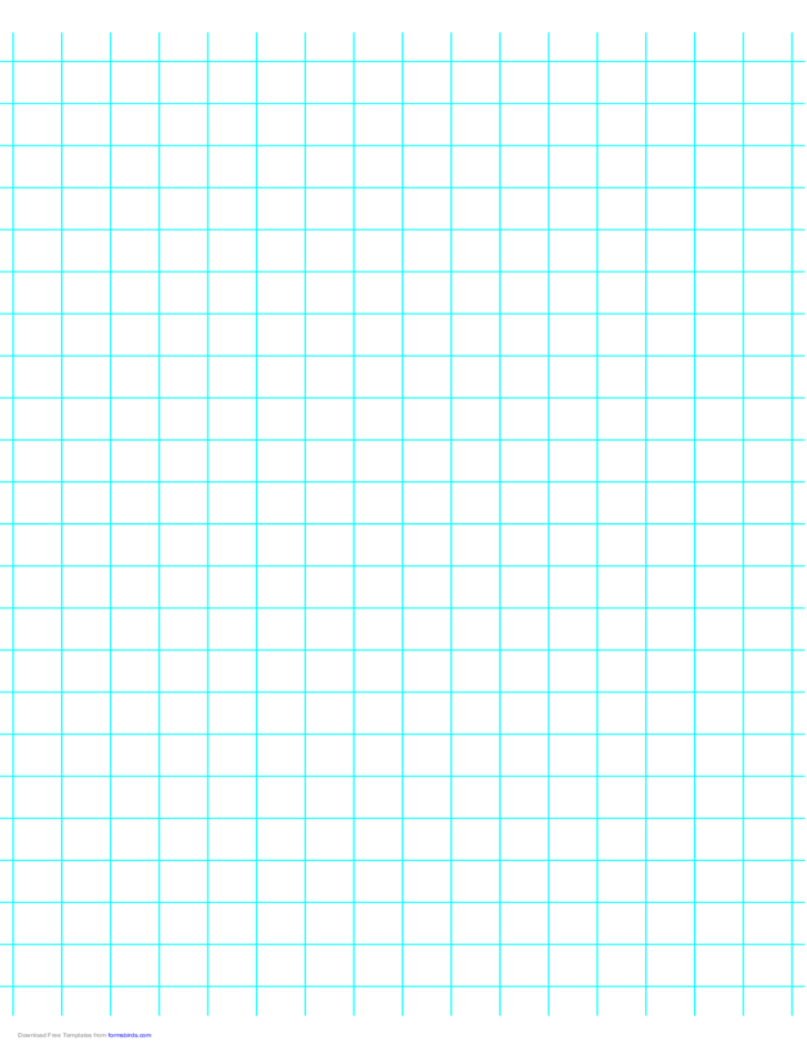 2 lines per inch graph paper on a4