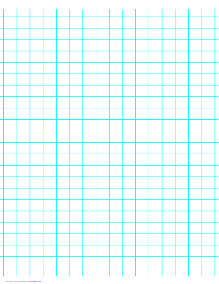 2 Lines per Inch Graph Paper on A4-Sized Paper (Heavy)