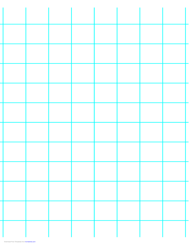 1 Line per Inch Graph Paper on A4-sized Paper (Heavy)