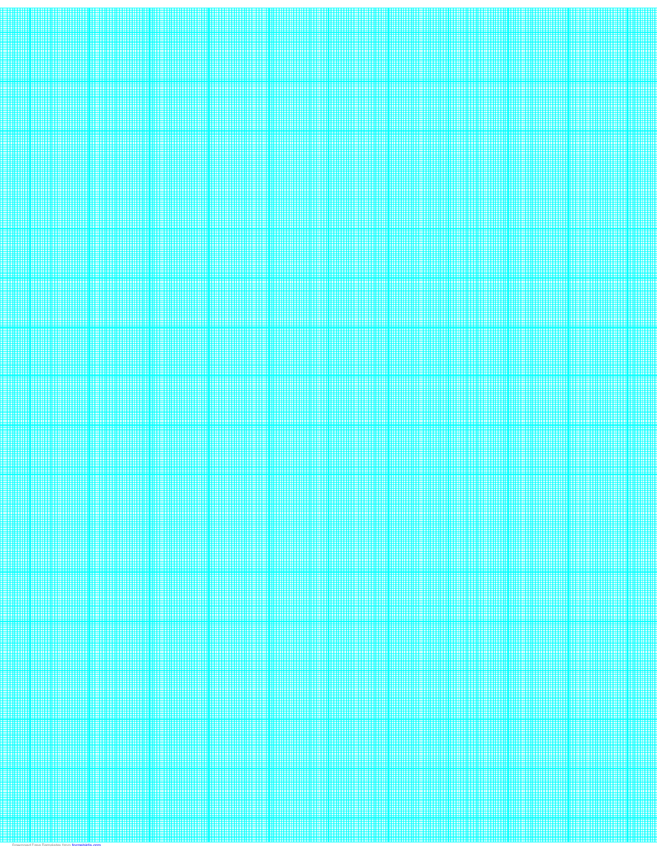 24 Lines per Inch Graph Paper on Ledger-Sized Paper (Heavy)