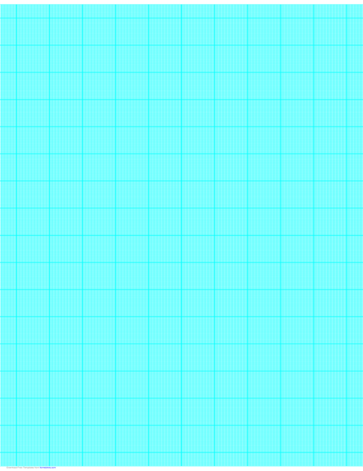 22 Lines per Inch Graph Paper on Ledger-Sized Paper (Heavy)