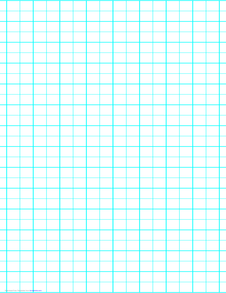 2 Lines per Inch Graph Paper on Legal-Sized Paper (Heavy)