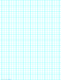 3 Lines per Inch Graph Paper on Legal-Sized Paper (Heavy)