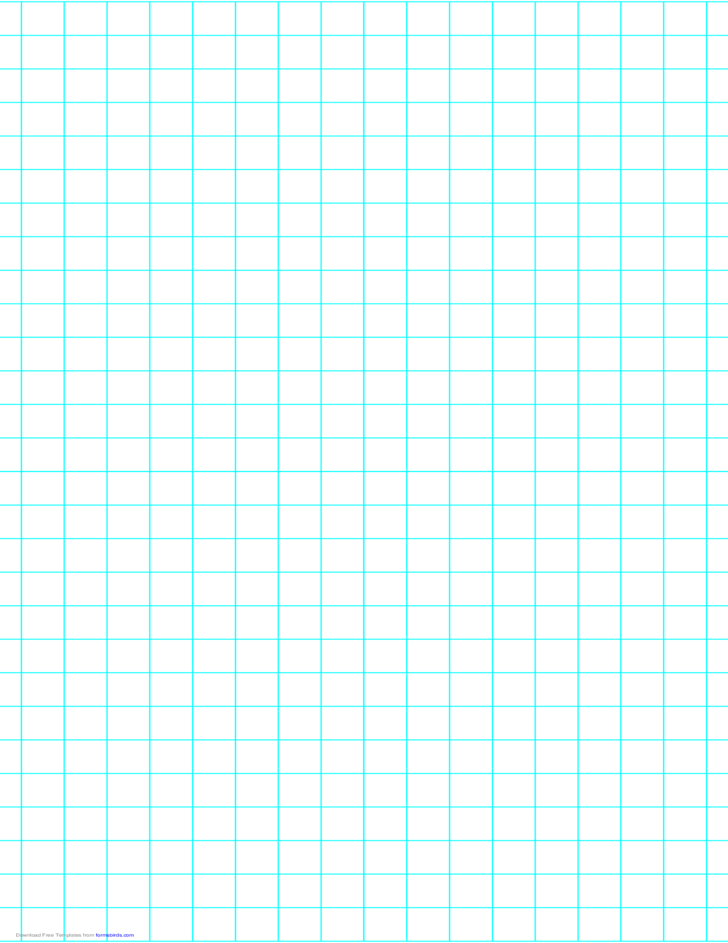 2 Lines per Inch Graph Paper on Legal-Sized Paper