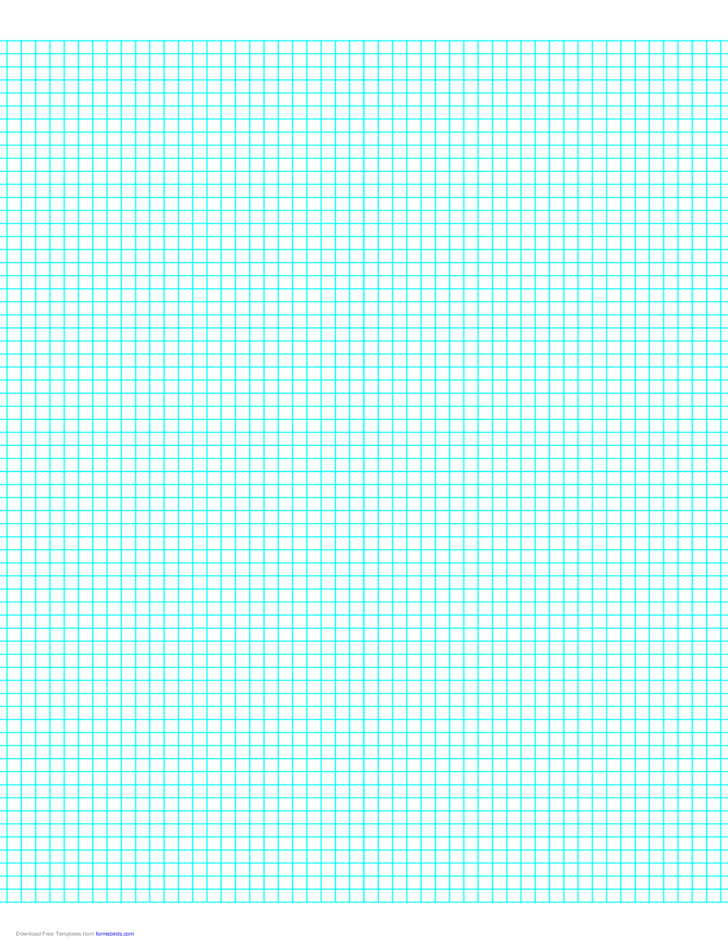 6 lines per inch graph paper on letter