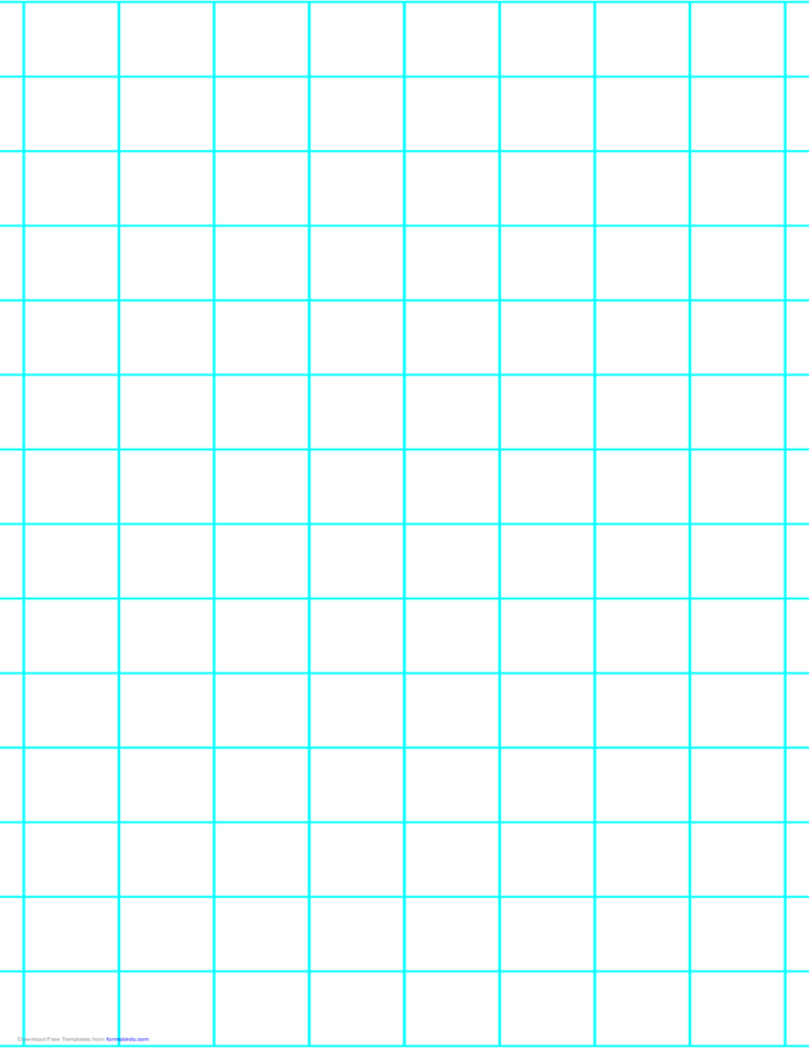 1 Line per Inch Graph Paper on Legal-Sized Paper (Heavy)