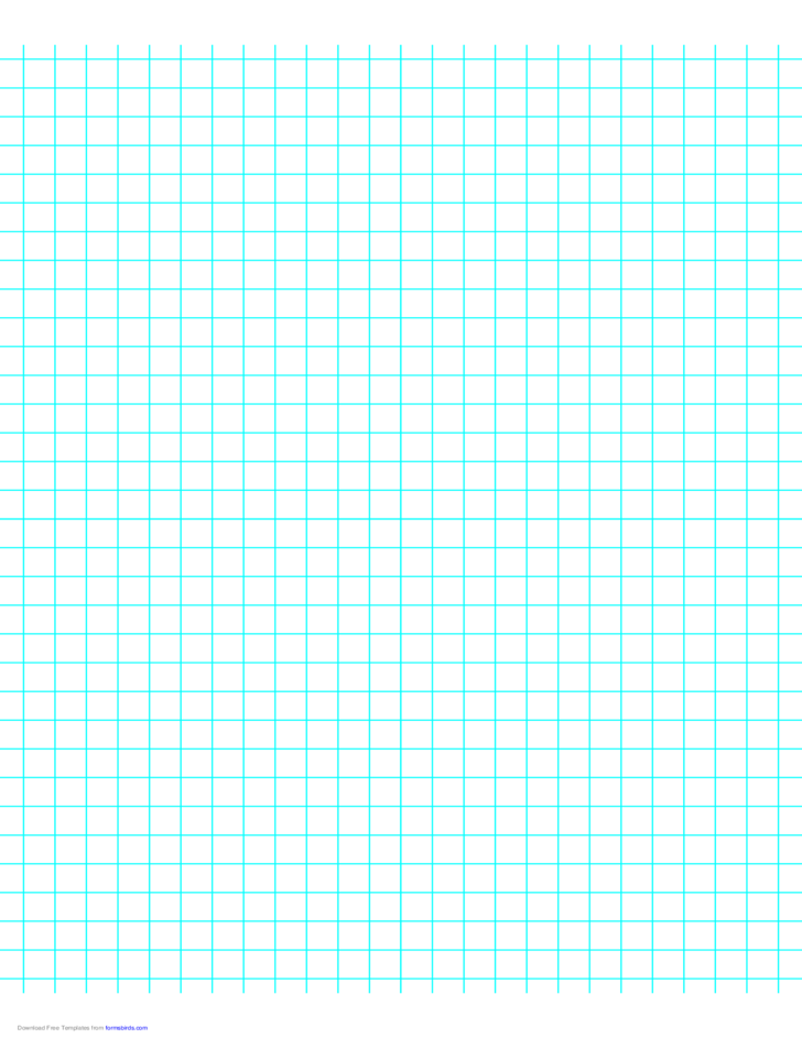 3 Lines per Inch Graph Paper on