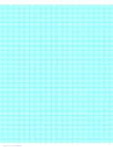 4 Lines per cm Graph Paper on A4-Sized Paper (Heavy)